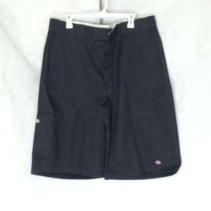 Dickies Men's Loose Fit Work Shorts Black 38
